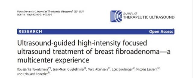 Eficacia de HIFU para Fibroadenomas